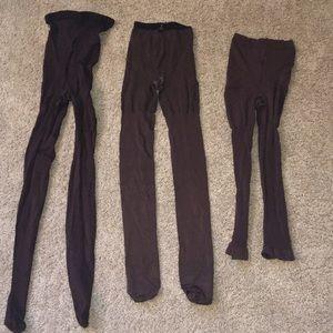 Spanx 3 pair brown sz c